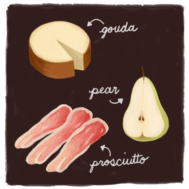 Gouda, Prosciutto, and Pear | 10 Cheese Pairings That Will Make Your Mouth Water For Days