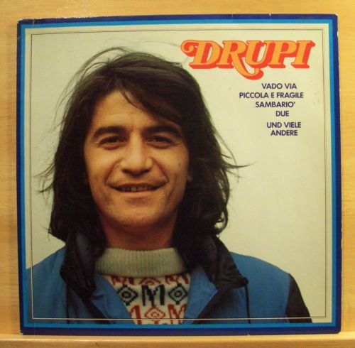 DRUPI-Same-Vinyl-LP-Vado-Via-Piccola-e-Fragile-Sambario-Sei-Vera-Come-Va