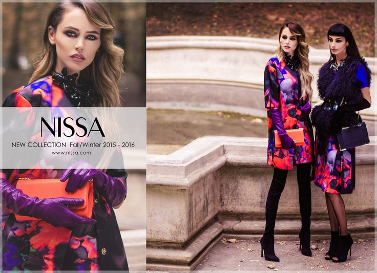 NISSA New Collection FALL / WINTER 2015 - 2016 www.nissa.com  #nissa #new #collection #TI2015 #fw2015 #newcollection #fashion #fashionista #print #now #in #stores #shop #coat #style #outdoor #mood