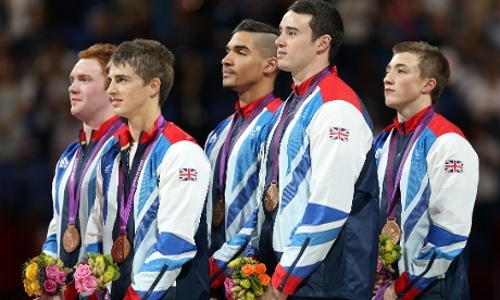 Great Britain's bronze medalists... should've been silver!!