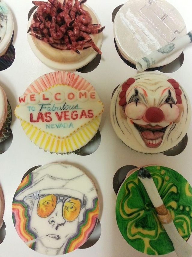 These are brilliant: Fear and Loathing in Las Vegas Cupcakes