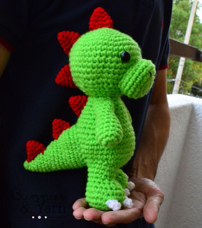 De 25+ bedste ideer inden for Crochet dinosaur p? Pinterest