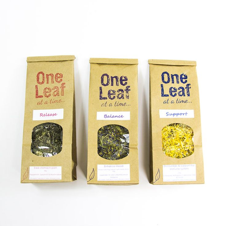 One Leaf At A Time is an organic range of loose leaf herbal teas created by Wellineux Naturopath Candice Borg.