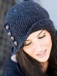 Resultado de imagen para gorros de lana para mujer para el colegio ... 08f85a341ee