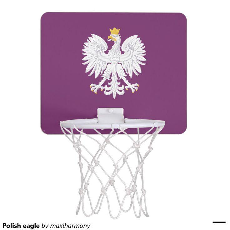 Polish eagle mini basketball backboard