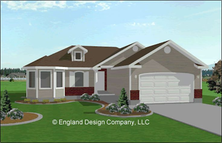 Ranch Style Home With Garage Addition House Plans