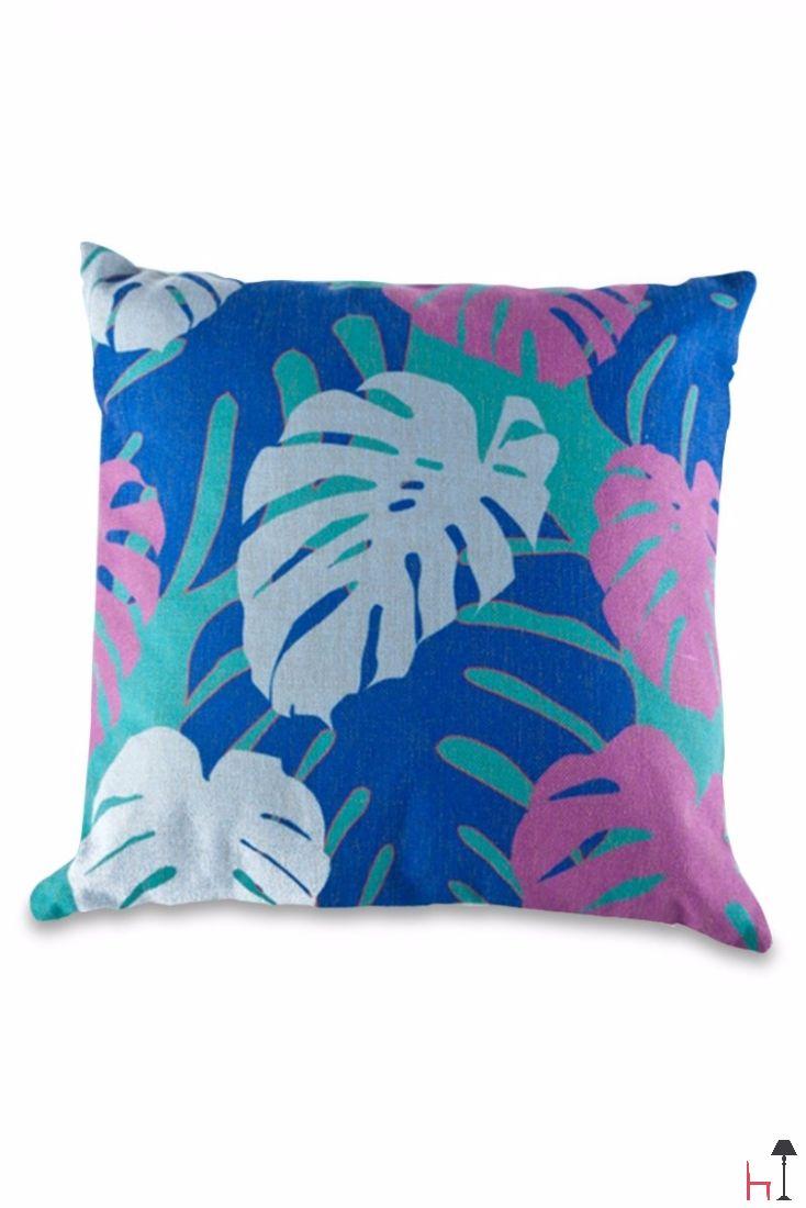 The Jungle cushion by Fest Amsterdam boasts a unique design and a beautiful colour palette.
