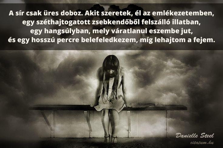 Danielle Steel idézet az emlékezésről.