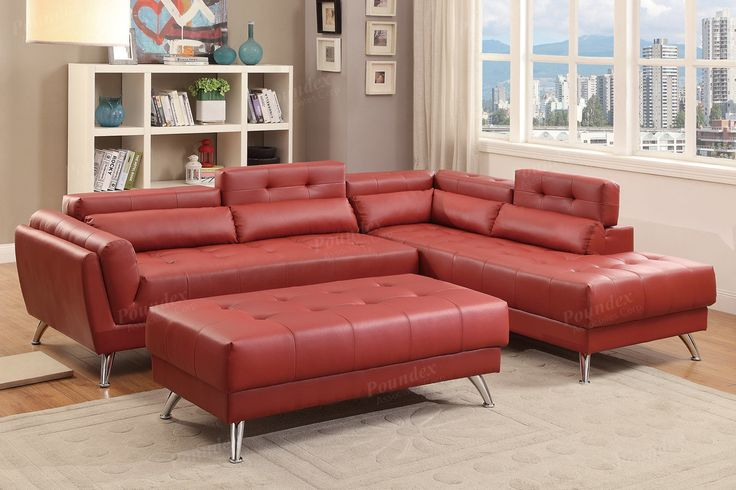 Awesome Leather Living Room Sectionals Ensign - Living Room Designs ...