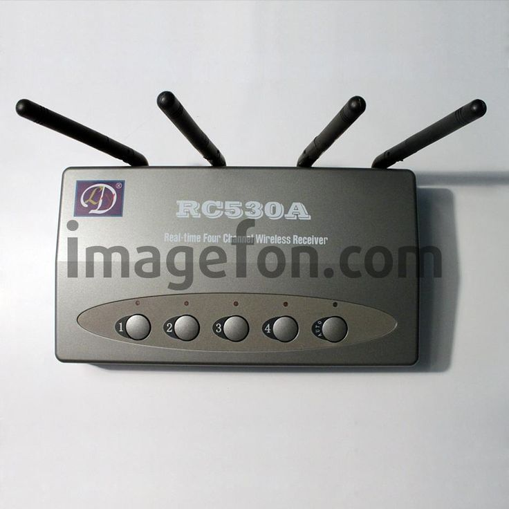 Беспроводная система видеонаблюдения с ИК подсветкой (4 камеры ночного видения, подключение к телевизору)   http://valfoncom.ru/catalog/good?id=452