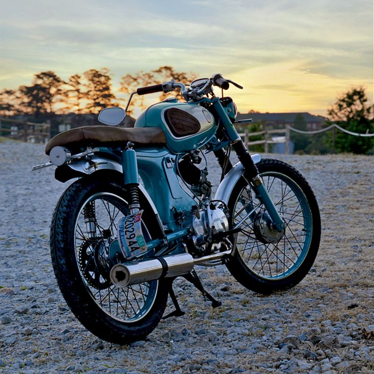 The art of sneaking a motorcycle into an apartment and rebuilding it is alive and well.