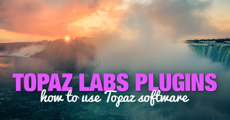 To help photographers who are just starting to use Topaz software, I have listed the plugins I use in the order of importance for my photography.