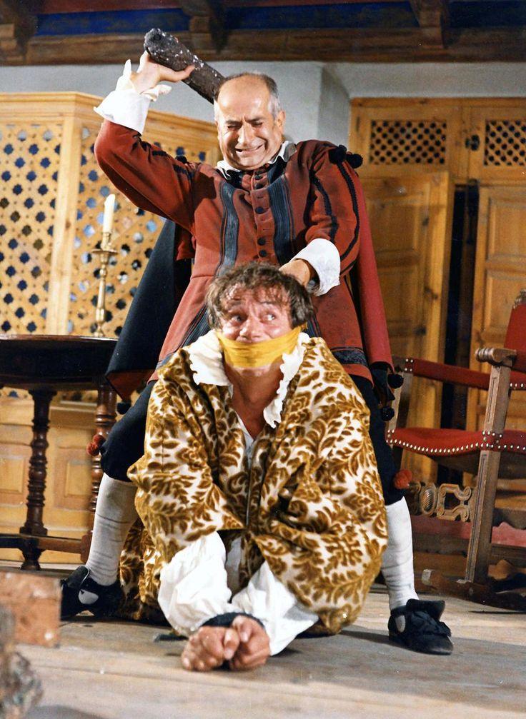 Louis De Funès  et Yves Montand - La Folie Des Grandeurs - © Gaumont Distribution