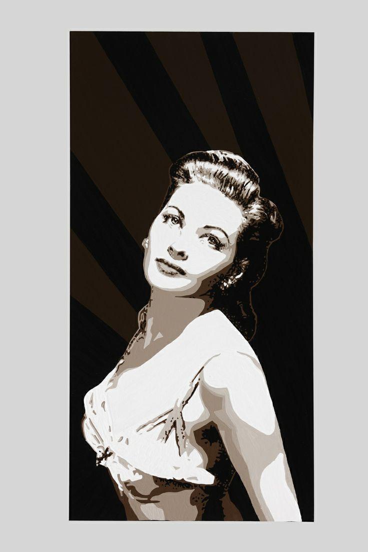 Yvonne de Carlo, 20 x 30inch