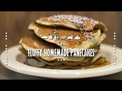 How to make Homemade Fluffy Pancakes | Collaboration with BuonaPappa #pancakes #tastemade #food #tasty