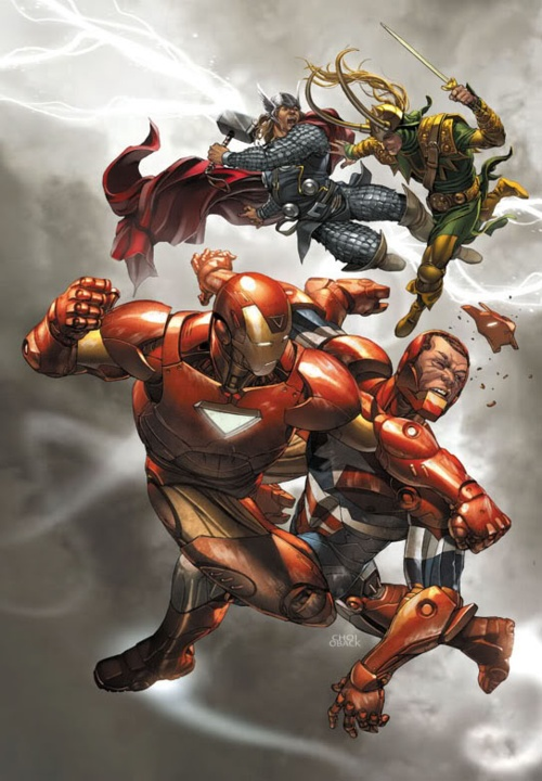 Iron Man vs. Iron Patriot & Thor vs. Loki | Marvel | Just ...