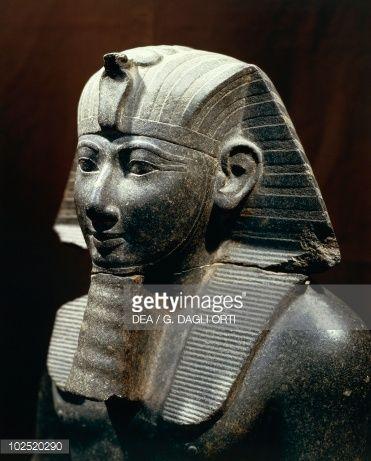 Statue of Thutmose III, New Kingdom, Dynasty XVIII, Egyptian civilization