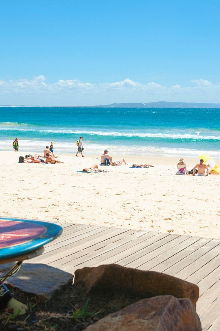 The resort is just one block from Queensland's Noosa Beach. #Jetsetter