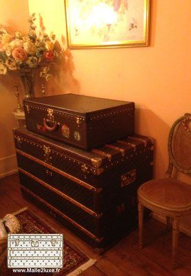 louis vuitton owner house. decor trunk old goyard moynat vuitton - louis owner house