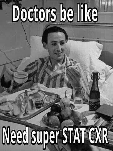 Radiology humor, xray