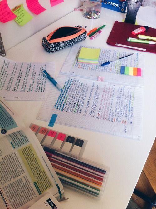     university, school, student, study, notes, inspo, inspiration, desk