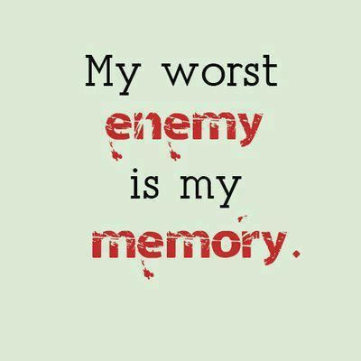 I wish I could wipe all of it from my memory. I wish you hadn't hurt me and I wish what we did hadn't turned me into something I'm not. I look back and I don't recognise who I was...thank god my husband still loves me and can see through all the crazy.