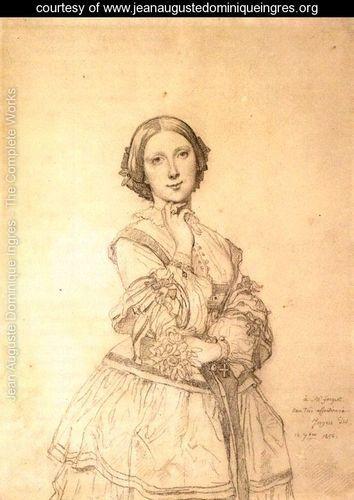 Mademoiselle Caroline Riviere Jean Auguste Dominique Ingres