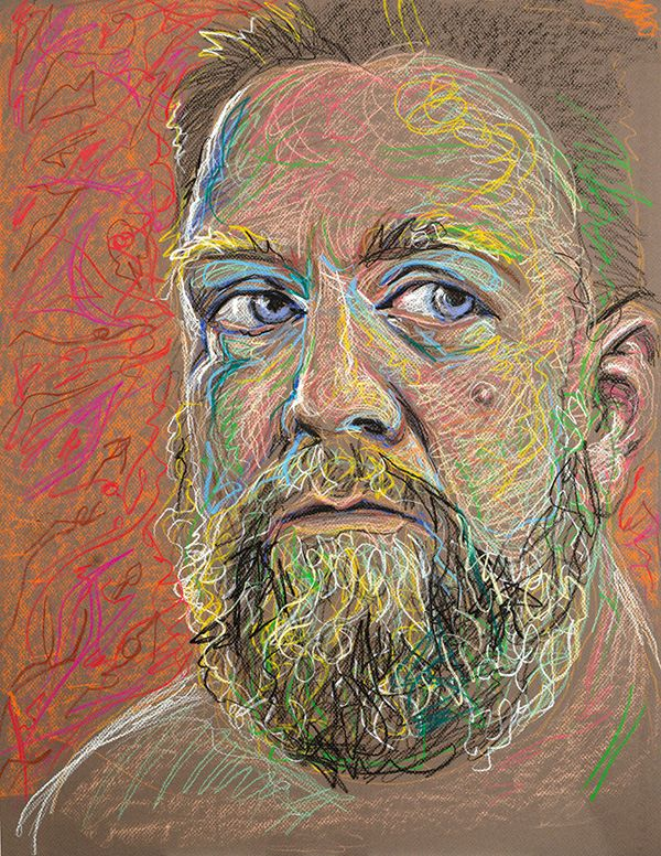 Self Portrait, 2012, by Fred Hatt                                                                                                                                                                                 More