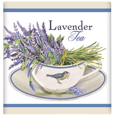 Lavender Tea Cup Tea Box Favor - Tea Theme Favors - Roses And Teacups