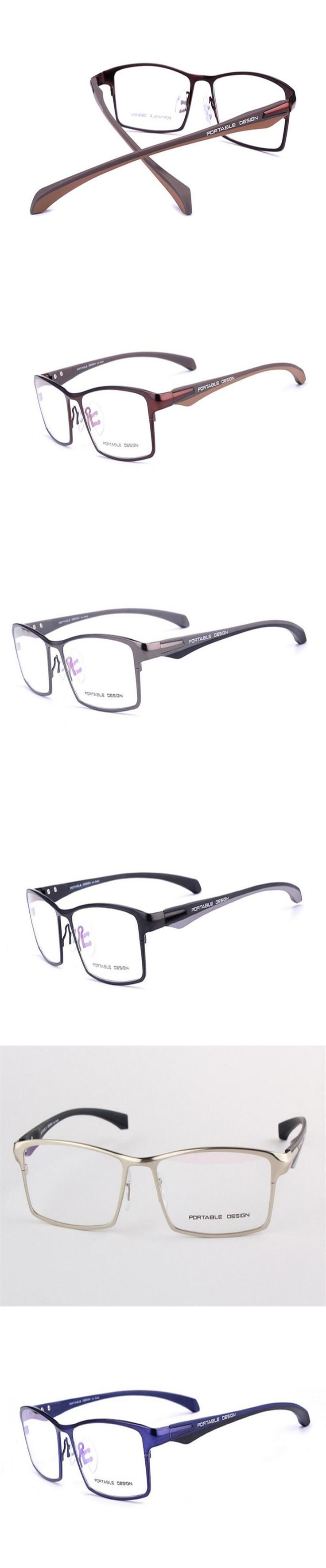 DOWER ME Progressive Multi-focal Lens Business Men Half Rim Alloy Optical Eyewear Frame See Near Far Presbyopia Reading Eyeglass