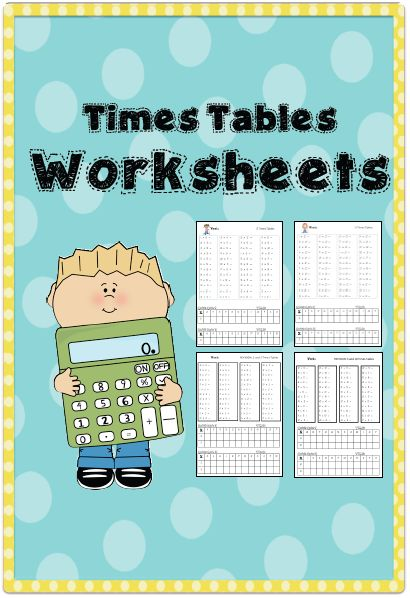 1000+ ideas about Times Tables Worksheets on Pinterest | Times ...