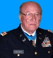 "Ed W. ""Too Tall"" Freeman was a United States Army helicopter pilot who received the U.S. military's highest decoration, the Medal of Honor, for his actions in the Battle of Ia Drang during the Vietnam War.    Born: November 20, 1927, Mississippi  Died: August 20, 2008, Boise"