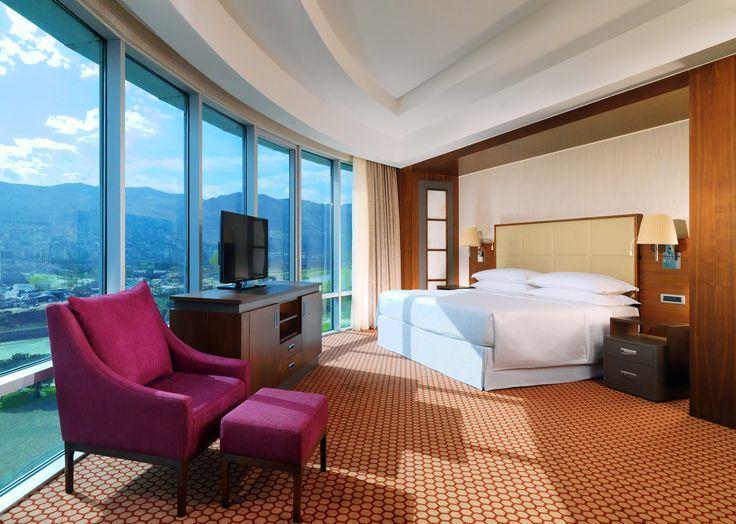 Sheraton Bursa Hotel Corner Guest Room