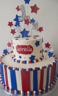 Forth of July 1st Birthday