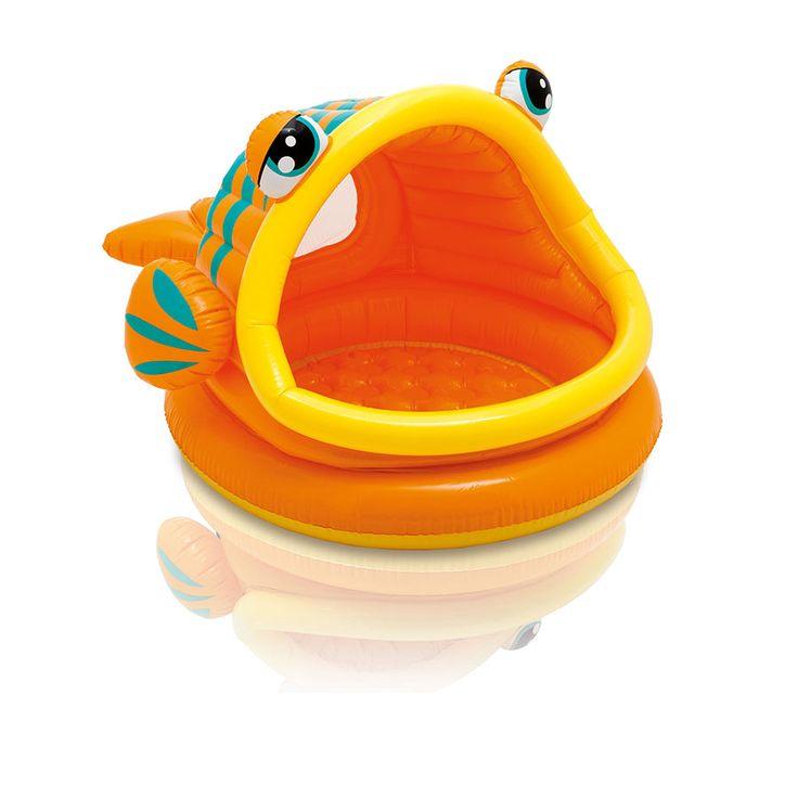 Intex Lazy Fish Shade Baby Pool   Toys R Us Australia