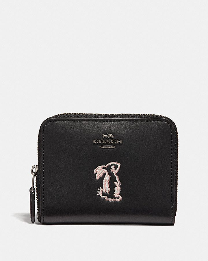 b7bf2ac12e2ee Selena Small Zip Around Wallet with a Bunny