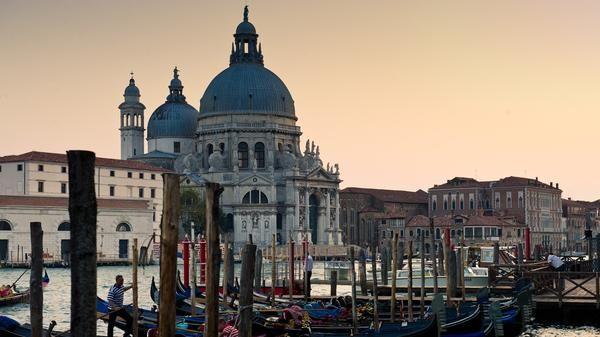 The Chiesa di Santa Maria della Salute in #Venice, #Italy