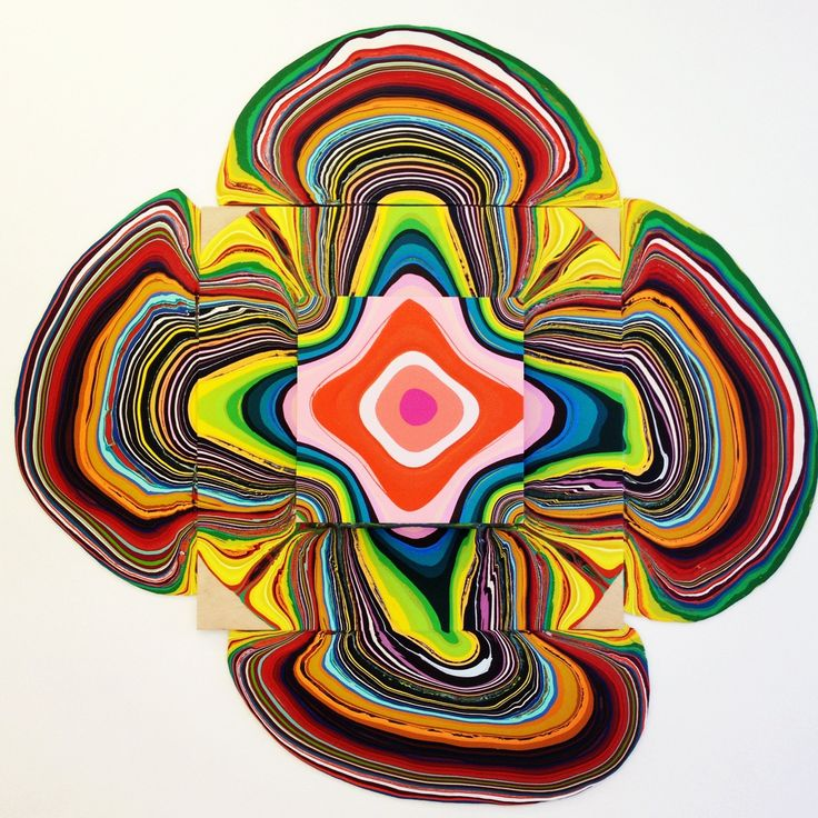 Holton Rower pour paintings (grahic)