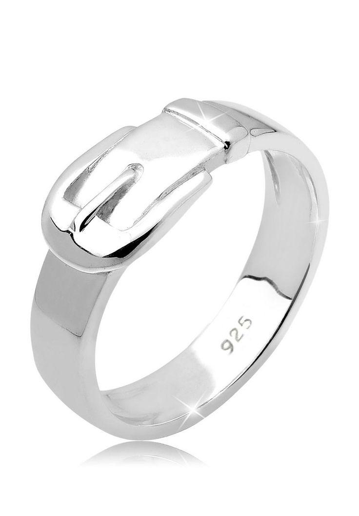 """Wunderschöner modischer Gürtel Ring aus feinem 925er Sterlingsilber, hochglanzpoliert.  Weitere Hilfe zur Ringgröße:  Angegebene Größe in mm entspricht """"Ring Innen-Umfang"""", Umrechnung in """"Ring Durchmesser Ø"""" wie folgt:  52mm Umfang = 16,5mm Ø 54mm Umfang = 17,2mm Ø 56mm Umfang = 17,8mm Ø 58mm Umfang = 18,4mm Ø  Produktdetails: Verstellbarer Ring: Nein  nicht verstellbar, H�he: 1mm, Breite: 4m..."""
