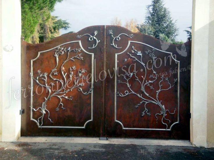 Comment Peindre Un Portail En Fer. Fb Mtal Et Dcoration Portails