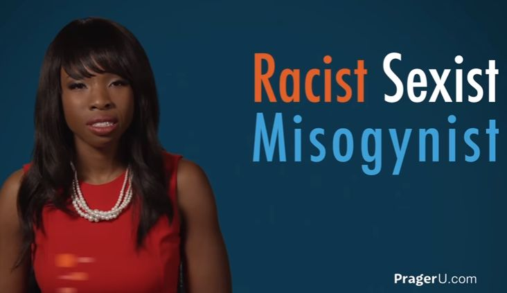 Beautiful, young, single black woman brilliantly explains how she became a 'racist, sexist, misogynist'
