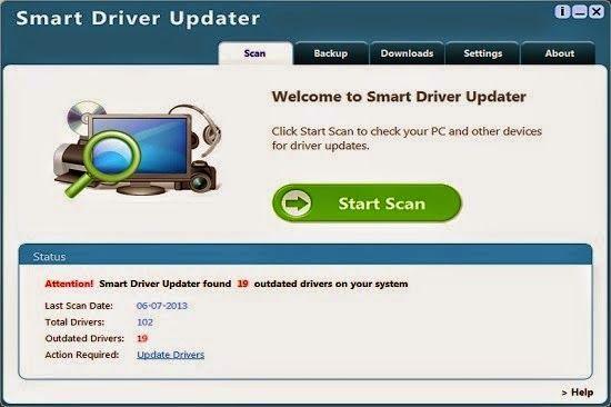 Smart Driver Updater est un virus informatique horrible qui se prétend être un programme antivirus légitime. Il est classé comme un adware et il apparaît à l'intérieur de votre PC illégalement par le téléchargement des mises à jour de Windows faux, le streaming vidéo en ligne,