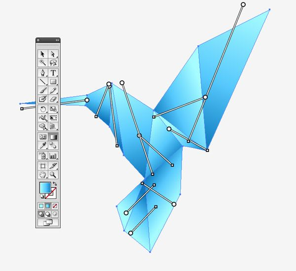 I recently received a great tutorial suggestion from a reader named Brigid who asked if I could create a guide to creating an origami style illustration. We'll use Adobe Illustrator to tackle this design for its advanced shape editing abilities and make particular use of Smart Guides to perfectly align our vector paths. Once the …