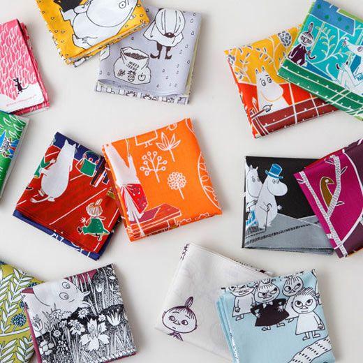moomin handkerchiefs