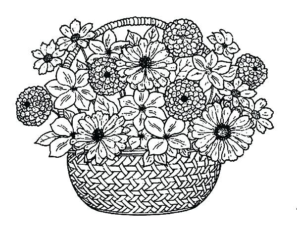 The Color By Number Fancy Free Flower Coloring Pages Liandolacom Flower Coloring Pages Detailed Coloring Pages Coloring Pages