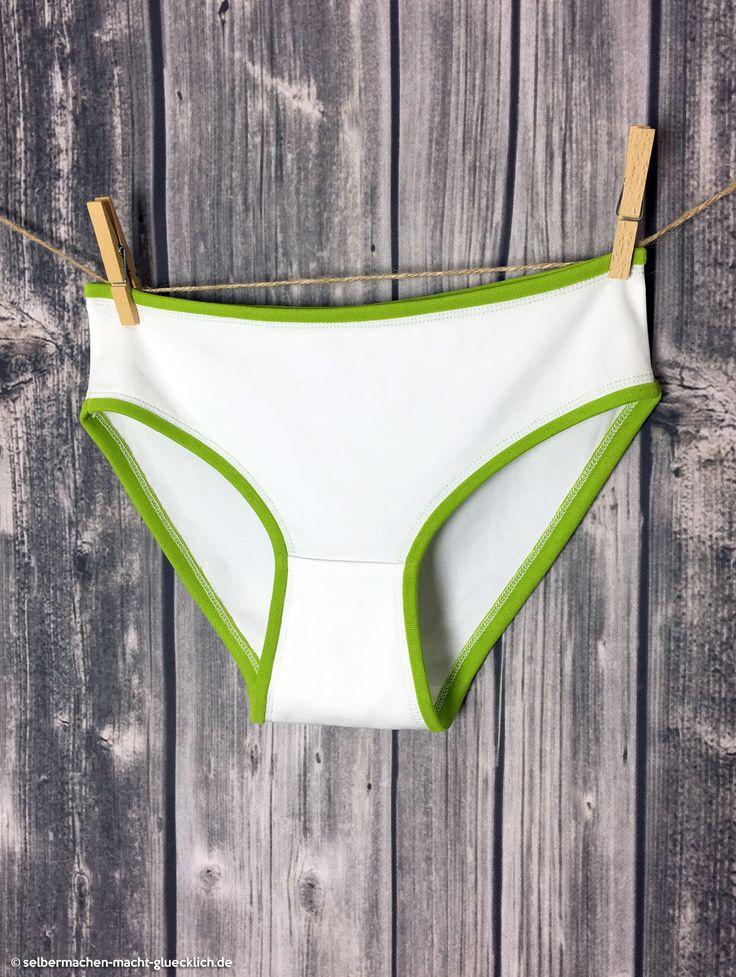 Kostenloses Damen-Unterhosen Schnittmuster von pattydoo aus Bio-Tula-Jersey von stoffe.de. Nähbeispiel von selbermachen-macht-gluecklich.dem - Alle Infos & Bezugsquellen gibt's im Blog!