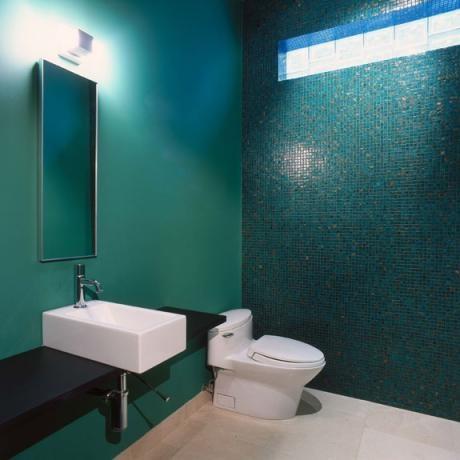Teal Bathroom