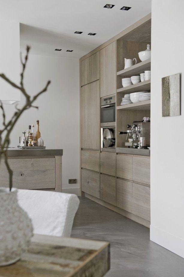 Prachtige keuken gemaakt en ontworpen door Piet-Jan van den Kommer