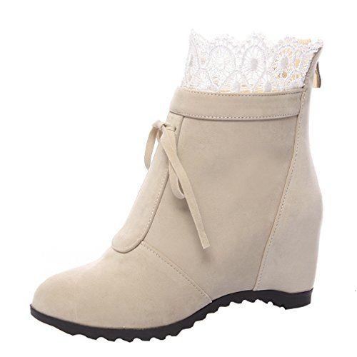 ENMAYERイエロー2016年の冬の雪のブーツ女性の口のレースブーツ防水増加厚底シリンダーのブーツに加え、ベルベ... https://www.amazon.co.jp/dp/B01N0DFW67/ref=cm_sw_r_pi_dp_x_wH2rybHRYGDKW