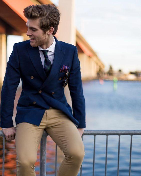 Coat dark pant blue 22 Elegant